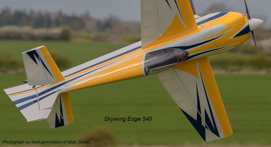 "105"" Skywing Edge 540          Photo by kind permission of Malc Brunt"